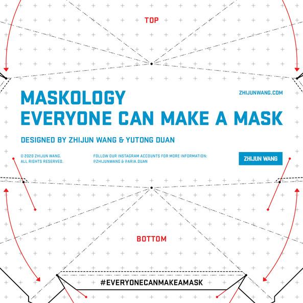 MASKOLOGY — 'EVERYONE CAN MAKE A MASK'