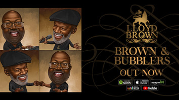 Lloyd Brown releases new album with Carlton 'Bubblers' Oglivie