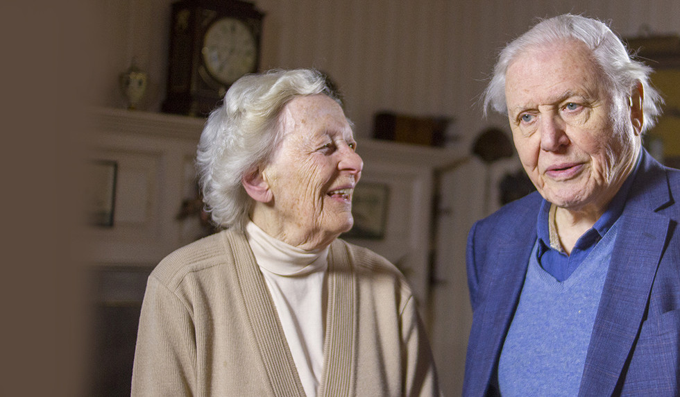 Listen to Lady Marriner and Sir David Attenborough in conversation in the latest ASMF podcast