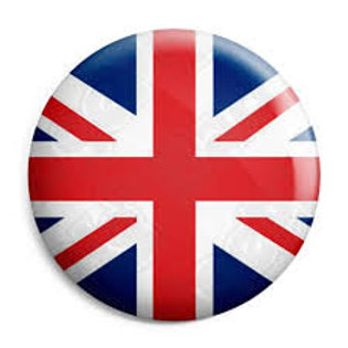 "Union Jack 1"" Button"