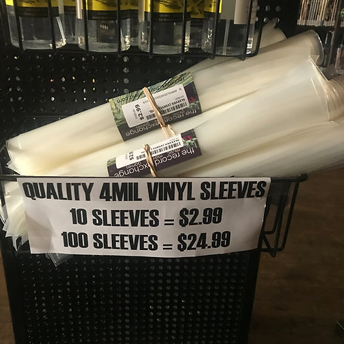 Quality 4 Mil Vinyl Sleeves