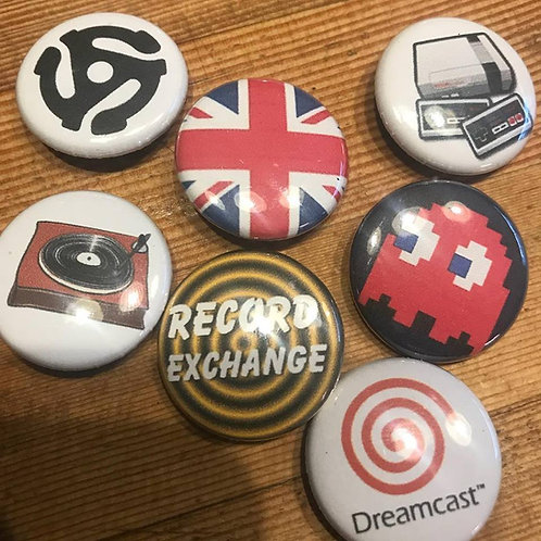 WE CAN MAKE BUTTONS FOR YOUR BAND, BUSINESS OR EVENT