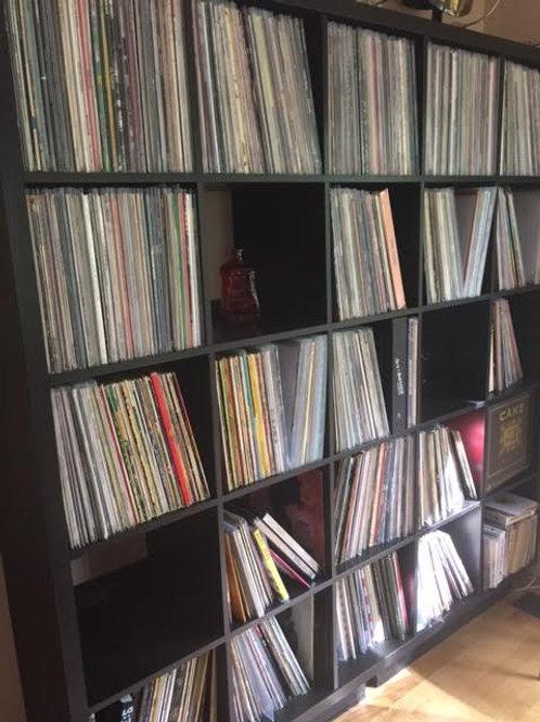 5 Random Vinyl Records  - Free shipping