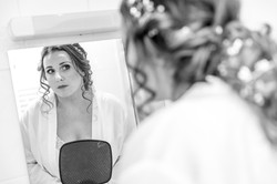 Bride To Be In The Mirror