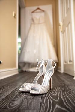 Bridal Shoes & Dress