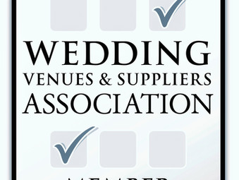 We are now a WVSA & Bespoke Weddings accredited supplier!!