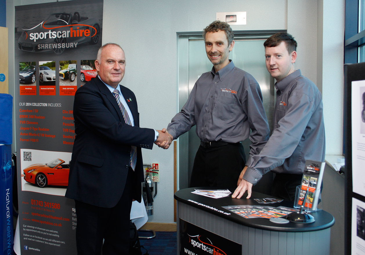 Sports Car Hire Staff
