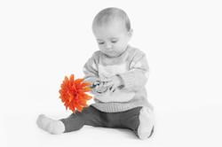 Baby flower girl
