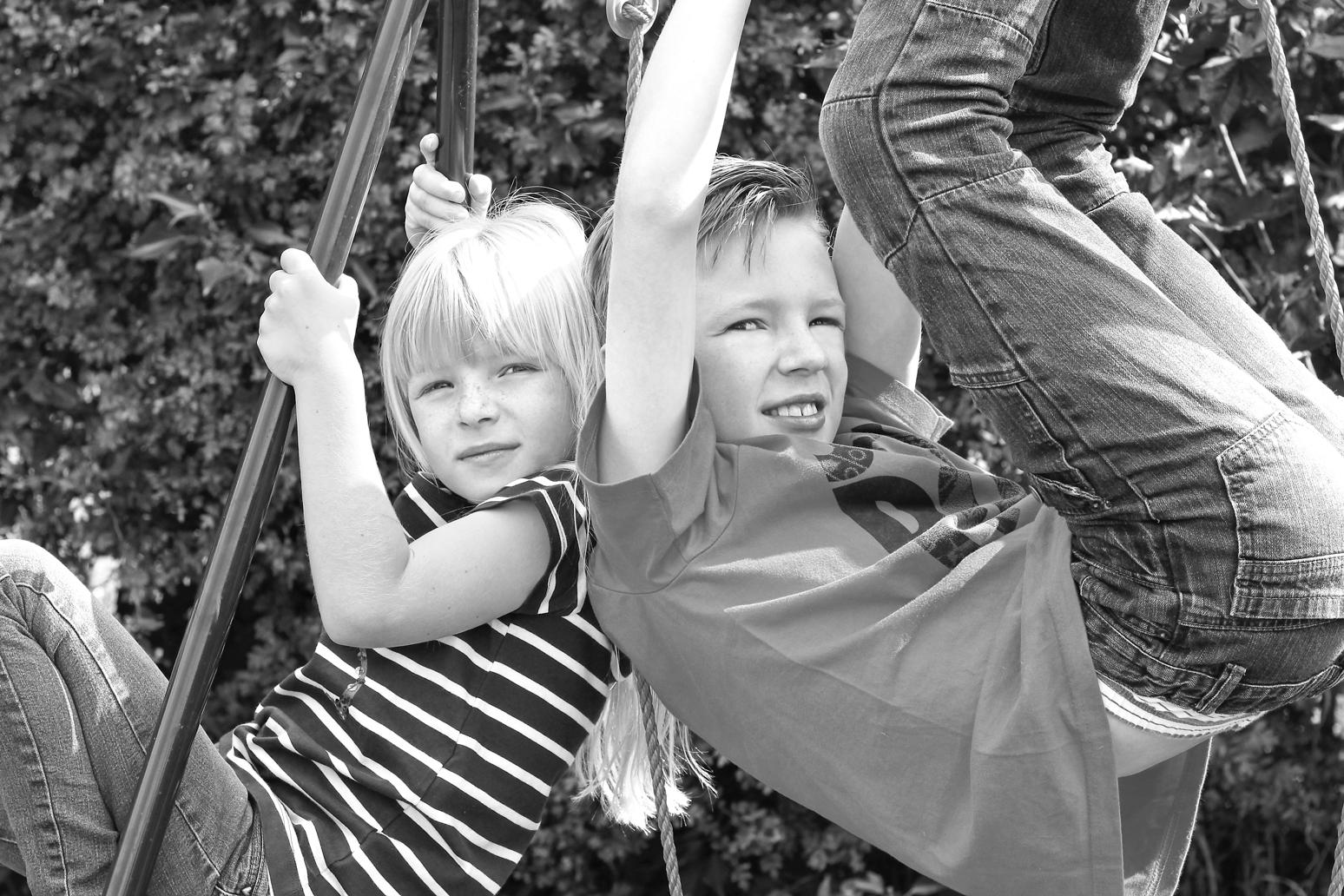 Children in Black & White