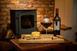 Red Wine Commercial Shot