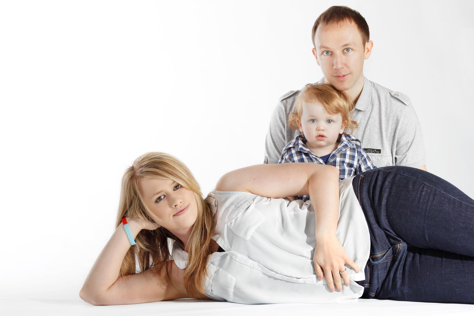 Pyramid Family Photo
