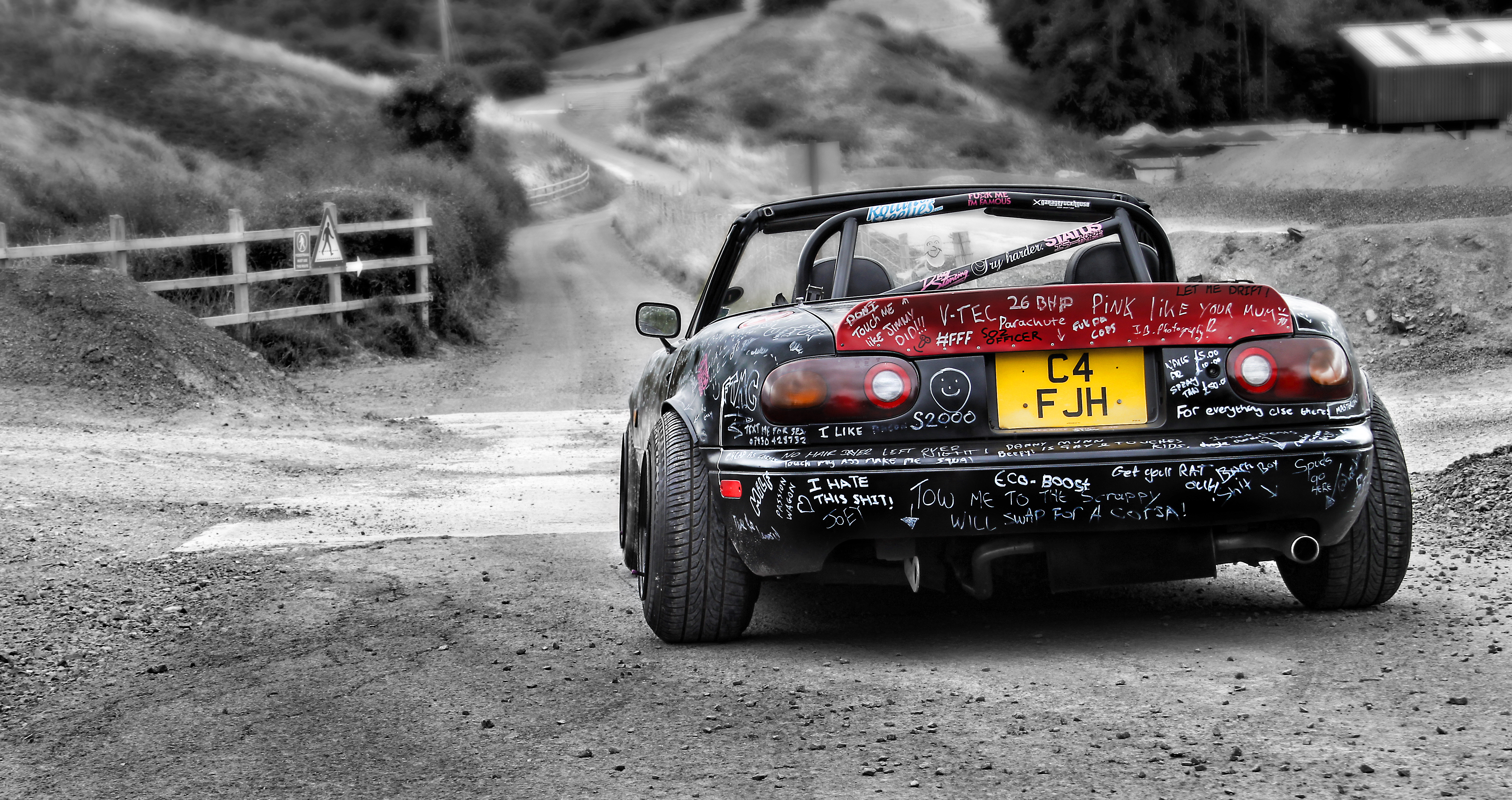 Modified Mazda MX5