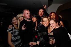 Night Club Group Shot