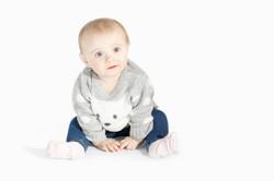 Baby Girl Sitting