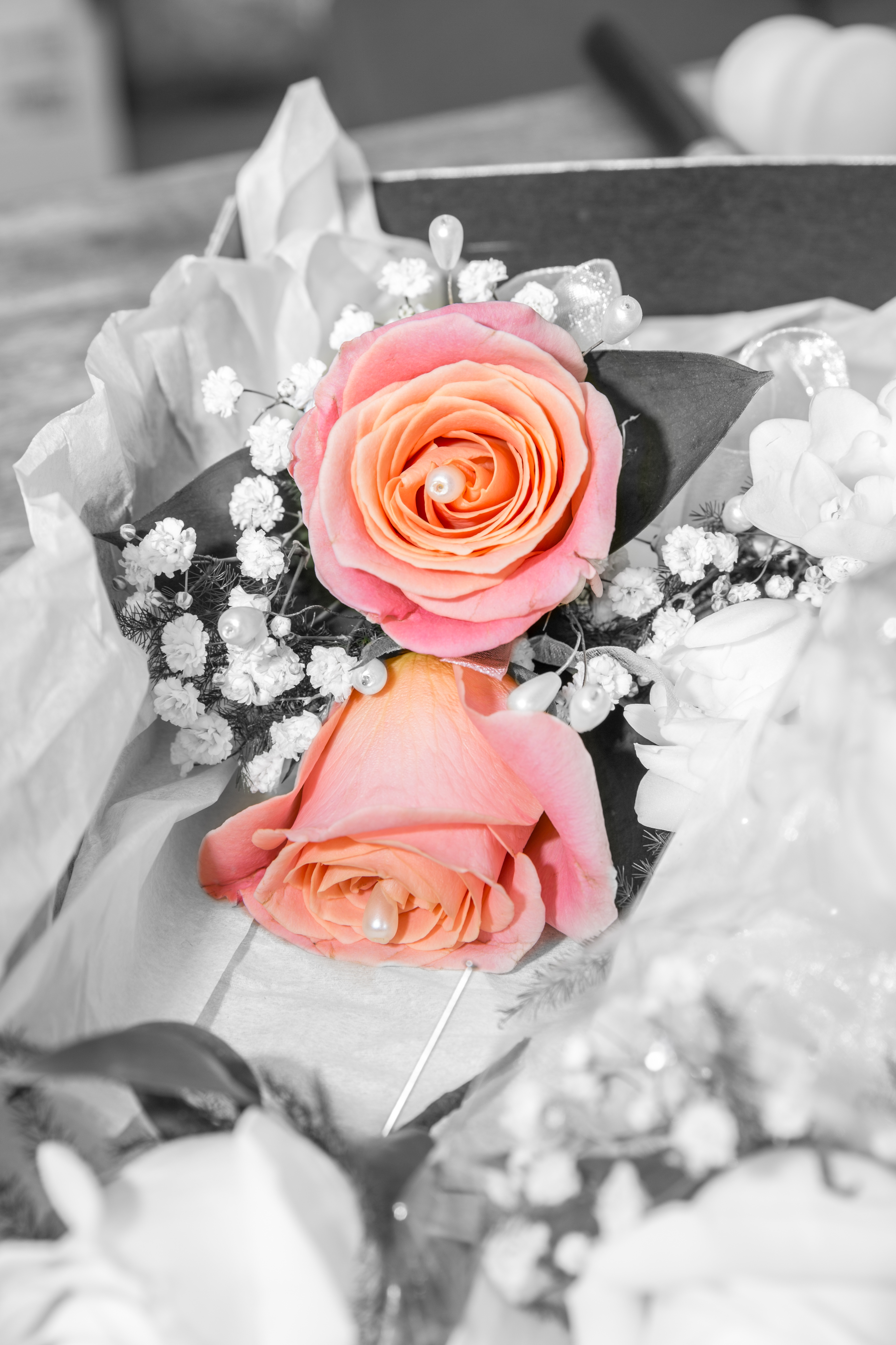 Colour Pop Wedding Flowers