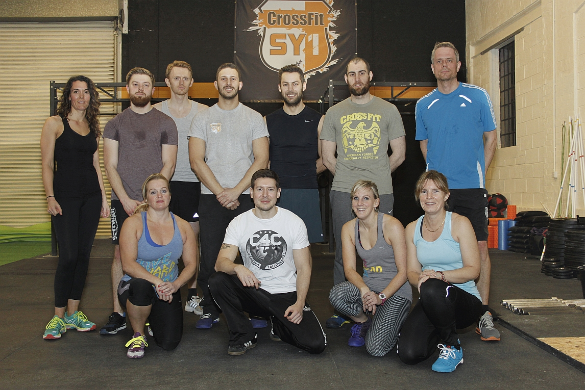 CrossFit SY1 Group Shot