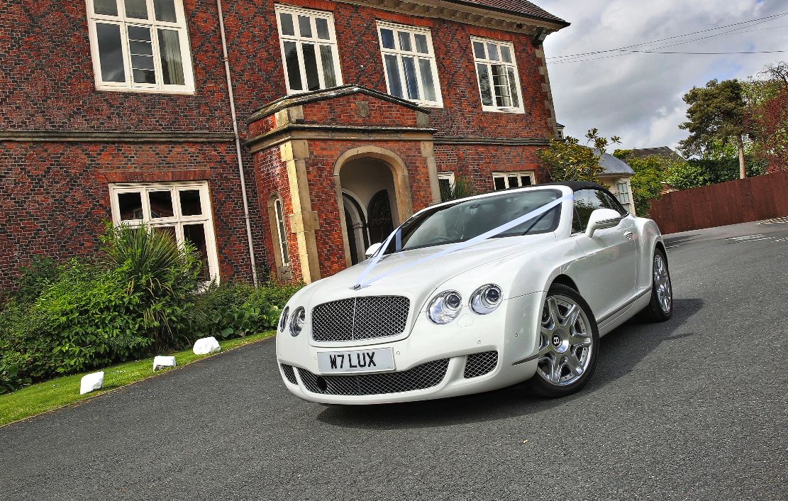 White Bentley BTC