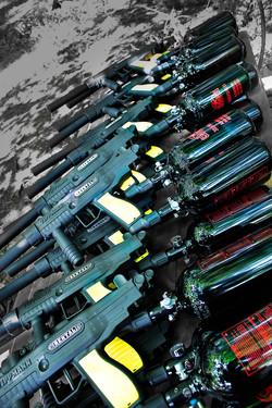 Paintball Gun Promo Shot