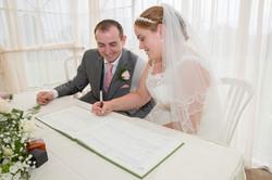 Wedding Register Siging