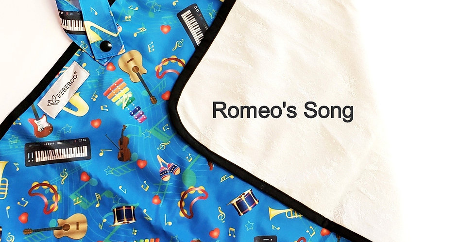 ROMEO'S SONG, Change Mat - WHOLESALE pack of 2