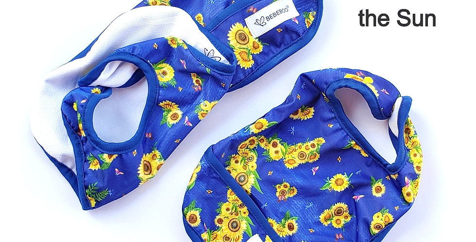 HERE COMES THE SUN - Bib - WHOLESALE pack of 2
