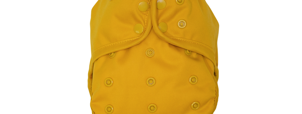 MUSTARD, Flex Diaper Cover, OS - WHOLESALE pack of 2