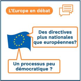 Débat: L'UE est-elle réellement démocratique ?