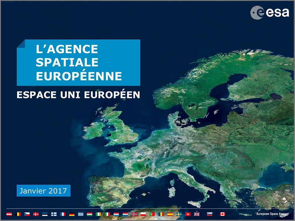 ESA, Espace Uni Européen, United Space in Europe, Image: ESA