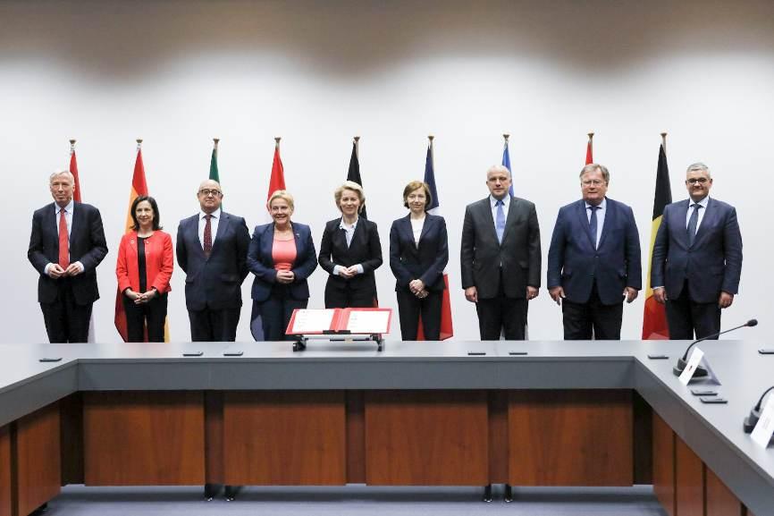 Neuf Etats européens s'engagent pour l'initiative européenne d'intervention. © Ministère des Armées