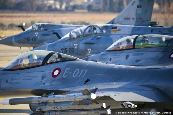 Photo : Thibault Champetier (c) armée de l'Air