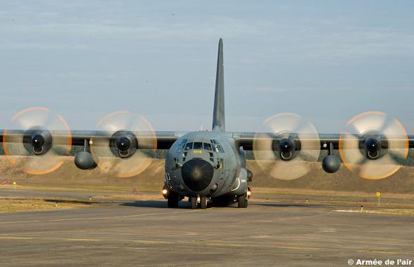C-130J Hercules de l'armée de l'Air (c) Armée de l'Air