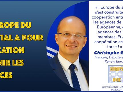 L'Europe du spatial: l'Union des forces