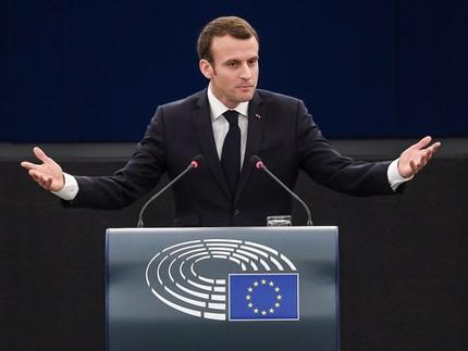 La France tente de relancer l'Effet Macron en Europe