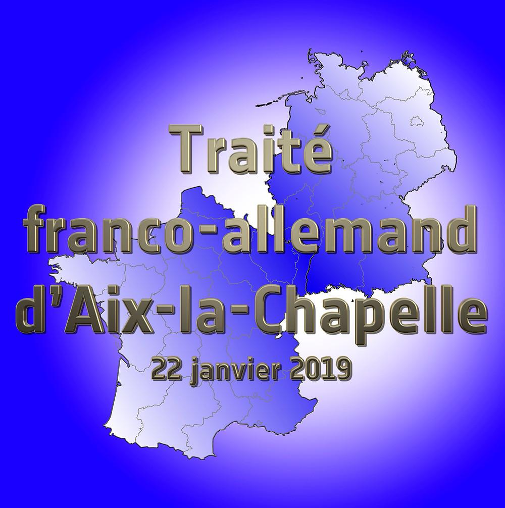 Traité franco-allemand Aix La Chapelle Christophe Carreau