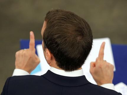 Parlement européen: Macron ne marche plus seul