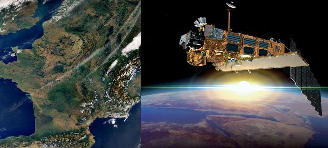 Satellite ENVISAT, crédit ESA