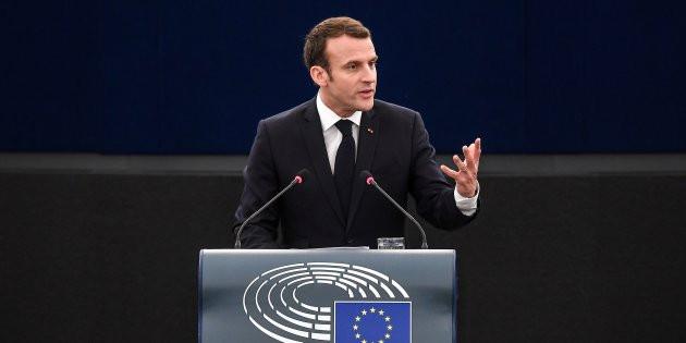AFP Emmanuel Macron s'est exprimé ce mardi matin devant le Parlement européen.