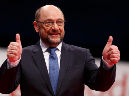 SPD's Martin Schulz wants United States of Europe by 2025