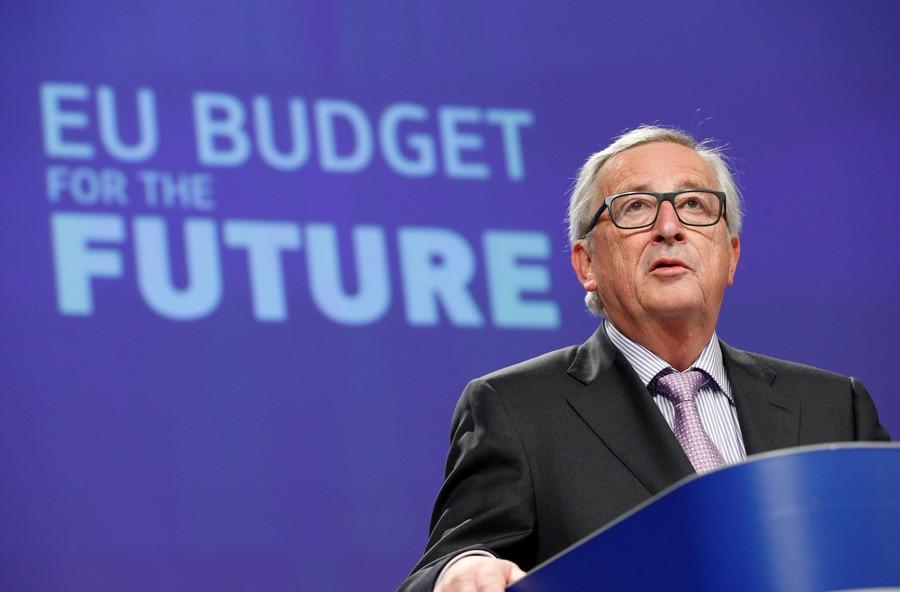 Jean-Claude Juncker, REUTERS/Francois Lenoir
