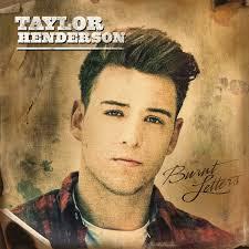 TAYLOR HENDERSON - Burnt letters