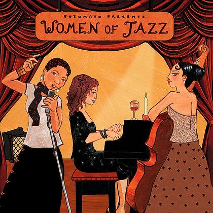 WOMEN OF JAZZ - Various Artists (Putumayo)