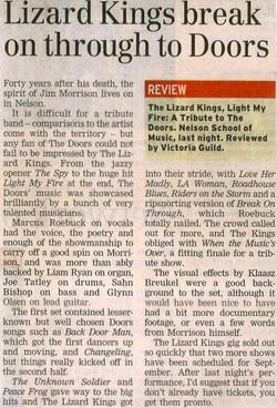 The Lizard Kings NZ Review