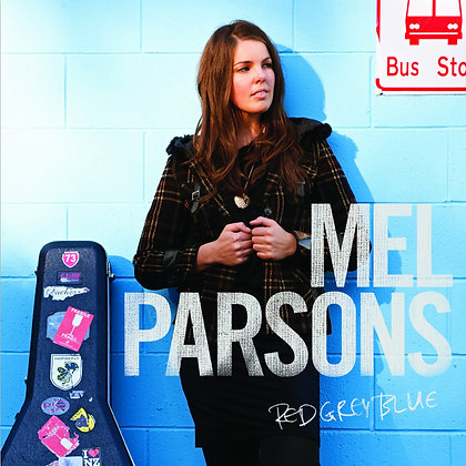 MEL PARSONS - Red Grey Blue