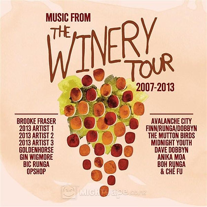 MUSIC FROM THE WINERY TOUR 2007-2013