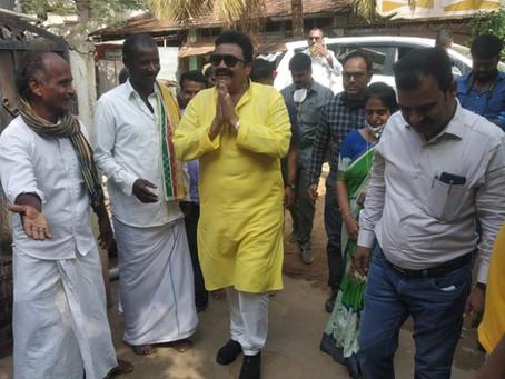 Agriculture Minister of Karnataka Shri BC Patil inaugurates Harvesto Soil Testing Lab