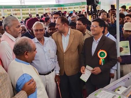 Agriculture Minister of India appreciates Harvesto Soil Testing Kit