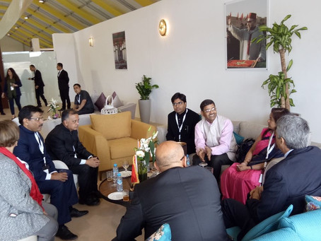 Harvesto represents Indian business interests to Morocco