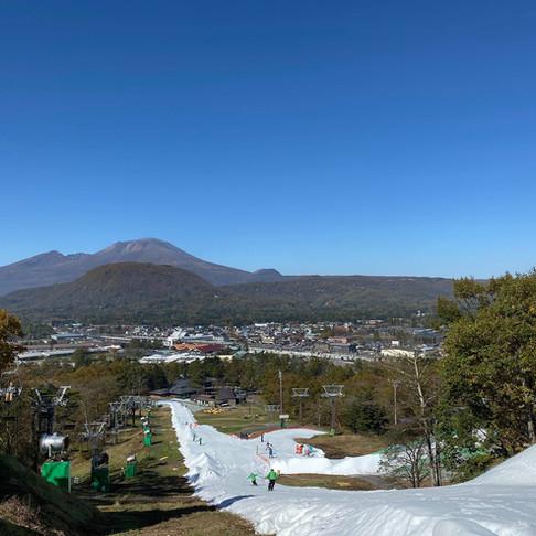 スキー&紅葉狩りを軽井沢で!