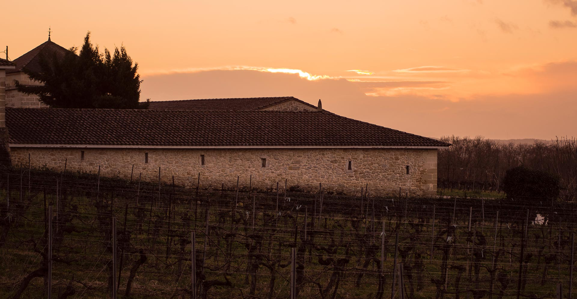 Sunset in Castillon