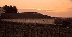 Sunset in Castillon